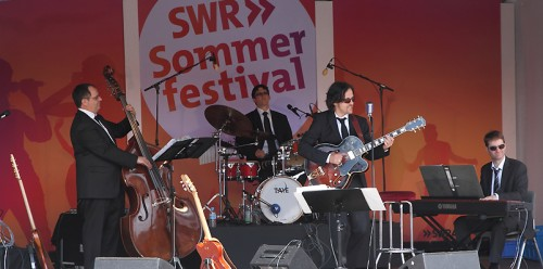 Crooners auf dem Sommerfestival des SWR in Stuttgart