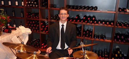 Michael Durst vom Crooners Quartet bei Di Gennaro