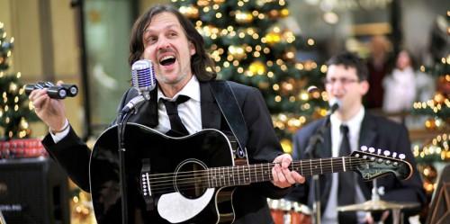 Ein Crooner zu Weihnachten