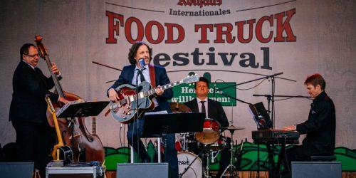 Crooner's beim 5. Foodtruckfestival in Rothaus am 08.09.2019 Foto: Thomas Niedermueller / www.niedermueller.de